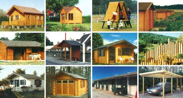 En 40 ans nous avons réalisé plus de 10.000 constructions en bois