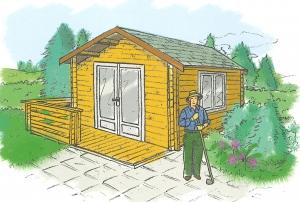 Implantation d\'un abri de jardin : droits et démarches ...