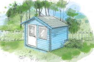 Cabanes de jardin sur-mesure en bois - Maisonelle