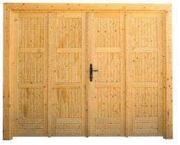 Porte de garage pour abri de jardin Maisonelle