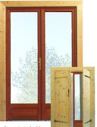 Porte pour abri de jardin ou chalet
